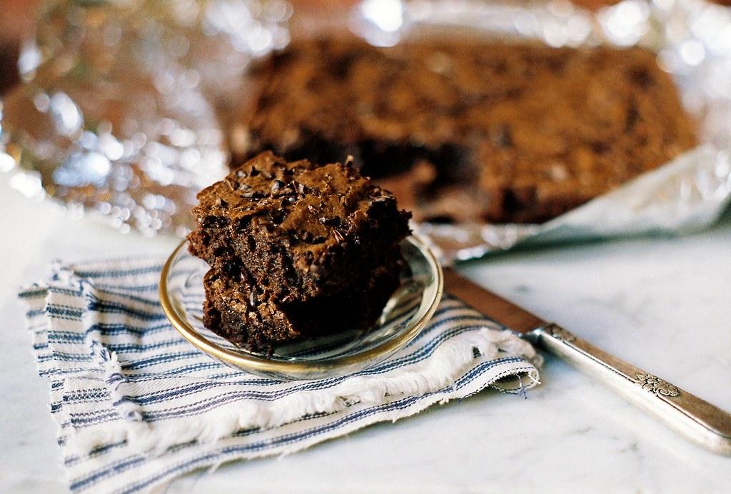 Nibby Bittersweet Brownies