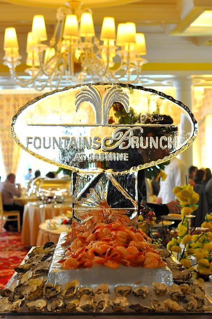 Bellagio Fountains Brunch at Jasmine  - Las Vegas