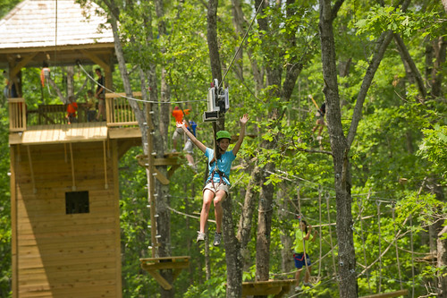 Go Loco for Higher Adventure in the Natural State at Loco Ropes!