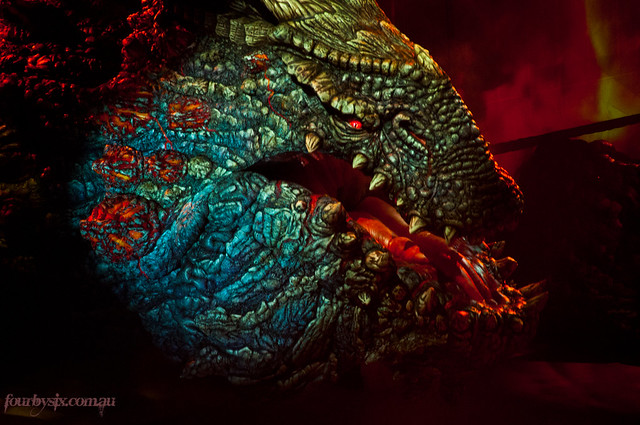red death dragon for - photo #15