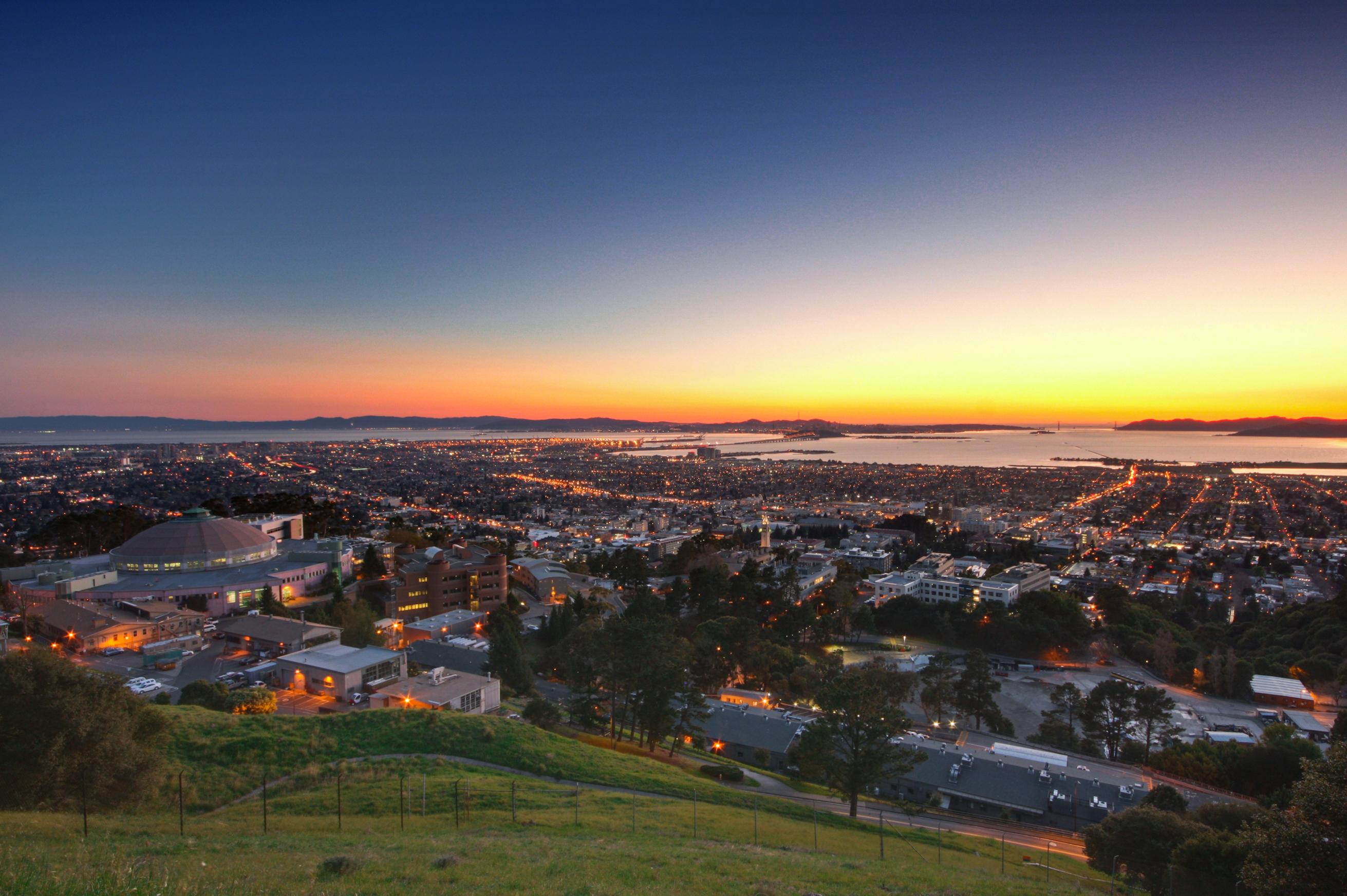 Dusk in the Berkeley Hills   Flickr - Photo Sharing!