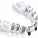 Prótese fixa   Coroas   prótese sobre implantes