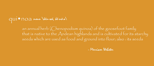 Quinoa Definition