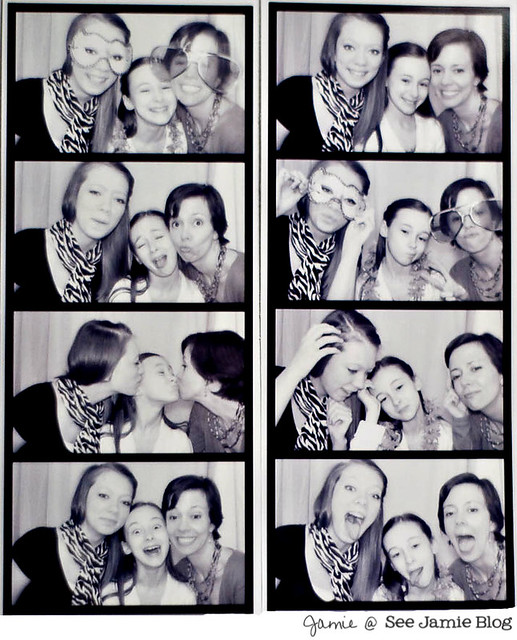 Mother Daughter Photobooth Fun