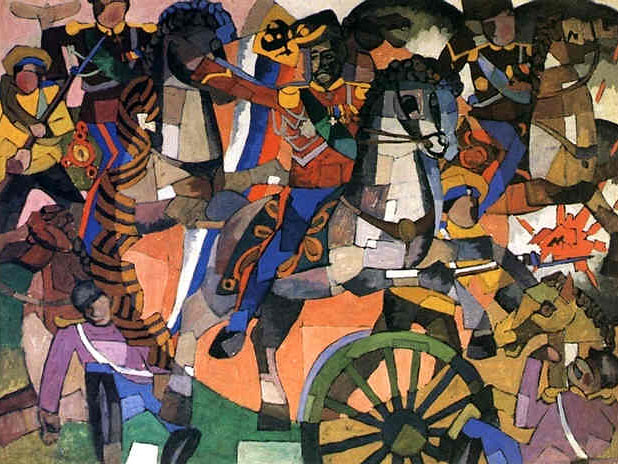 Lentulov, Aristarkh (1882-1943) - 1914 The Victory Battle