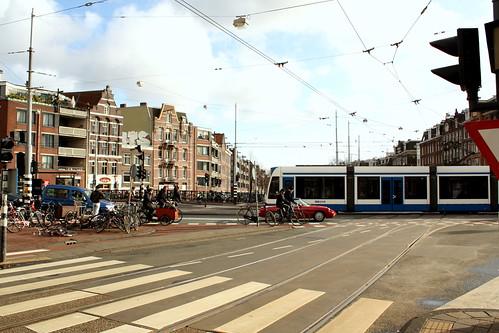 verkeer in amsterdam