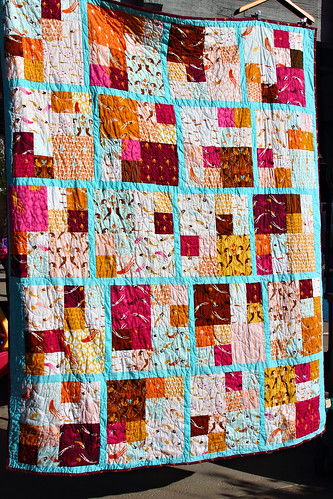 Gwen's Blue Mermaid Quilt