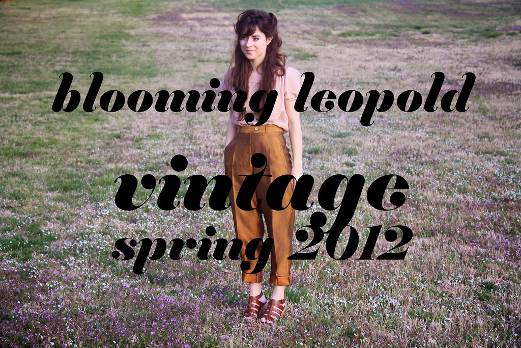 vintage spring lookbook