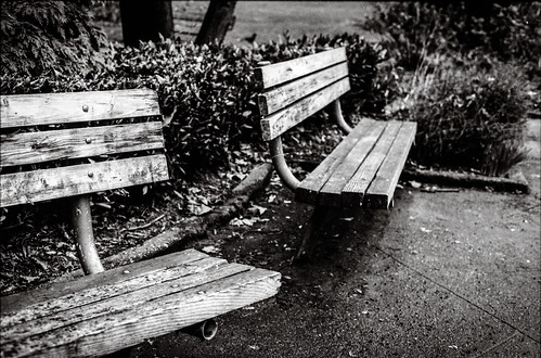 Two Lazy Benches
