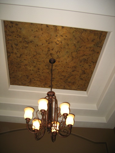 Tray Ceiling - Dining Room - Italian Finishes - Bella Faux Finishes - Sioux Falls, South Dakota