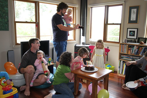 Nina's 3rd birthday by Bianca Nogrady