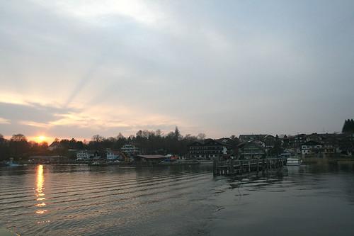Sonnenuntergang über Gstadt / Dawn at Gstadt