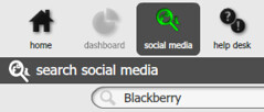 OneDesk Social Media Search