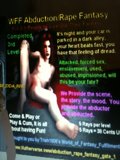 Kinky Fetish Sex Online: Abduction Fantasy 'Play' Room