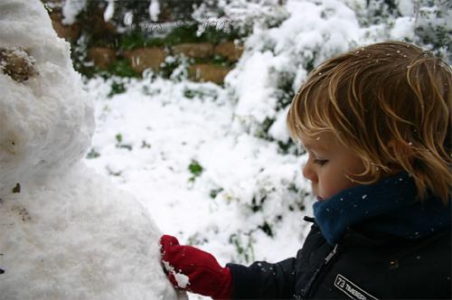Ilusión en la nieve