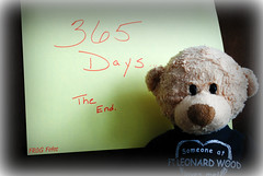 365/365  2/11/12  the FINAL countdown...The End