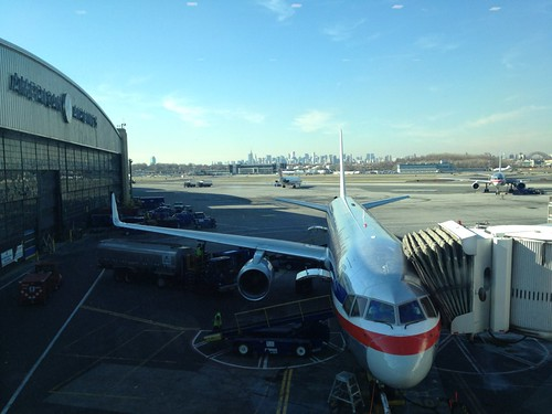 View from the Admiral's Club - LaGuardia Airport