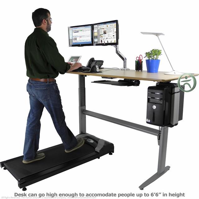 Uplift Treadmill Desk Flickr Photo Sharing
