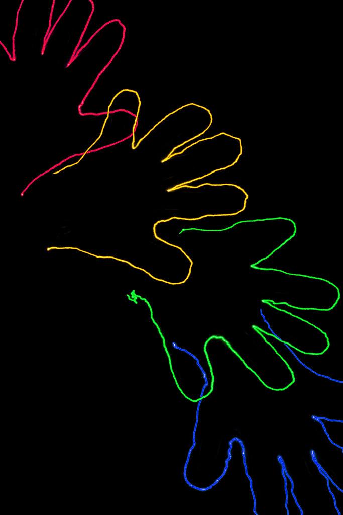 Rainbow Hands OR 196/365