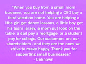 another reason to support local business