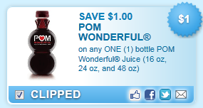 Pom Wonderful Juice Coupon