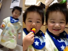 寝る前のとらちゃん(2012/3/27)