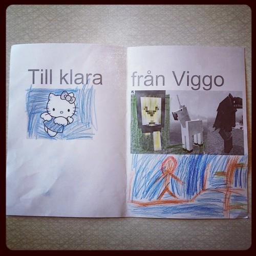 Till Klara från Viggo
