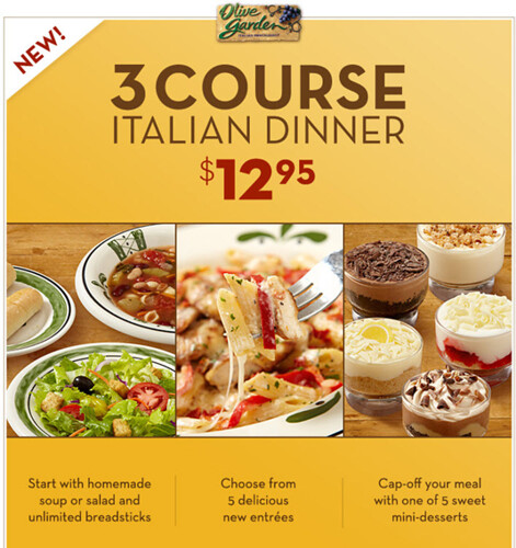 Olive Garden Menu Pdf: Olive Garden Lunch Menu