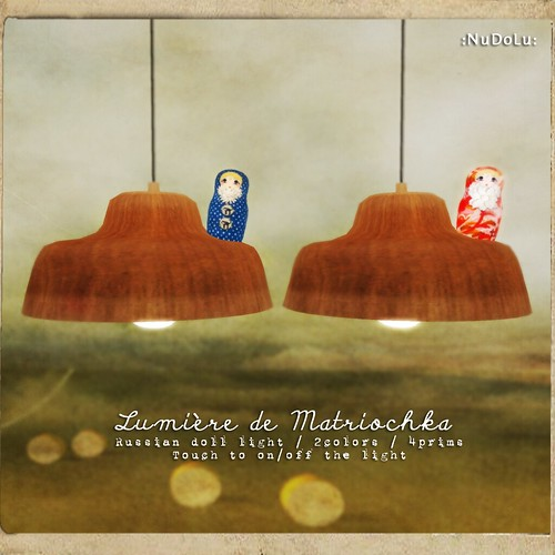 NuDoLu Voyage Lumiere de Matriochka AD