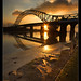 Golden Bridge portrait....