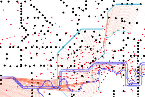 Geography vs London Tube Map - Benedikt Groß and Bertrand Clerc