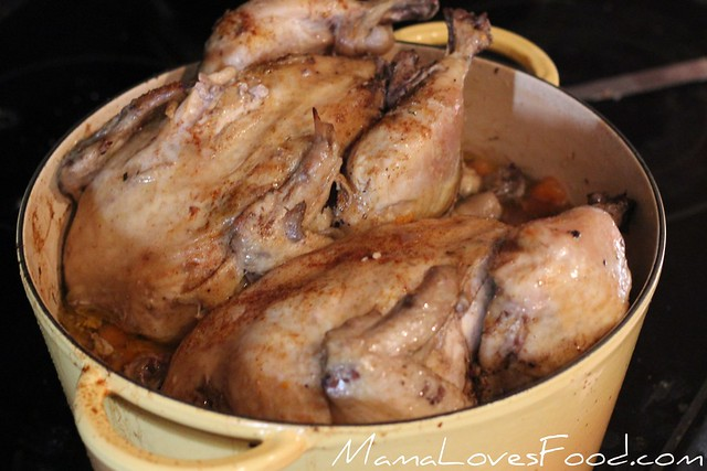 Roasted Chicken and Carrots