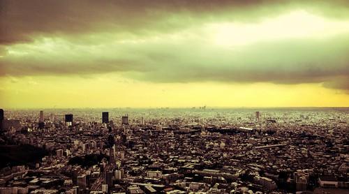 [フリー画像素材] 建築物・町並み, 都市・街, 風景 - 日本, 日本 - 東京 ID:201202211600