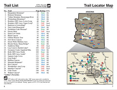 Trail List and Locator
