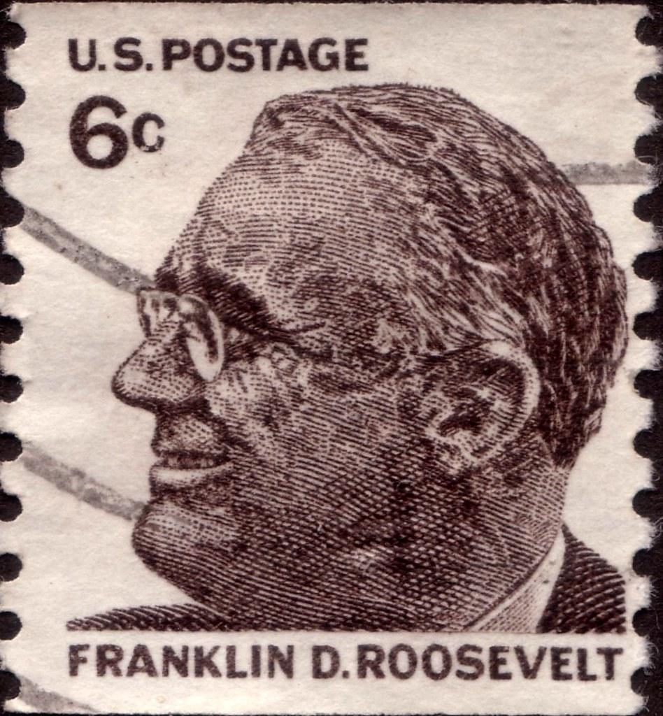 United States Of America Franklin D Roosevelt Stamp