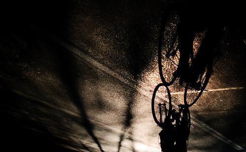 無料写真素材, 乗り物・交通, 自転車, 影