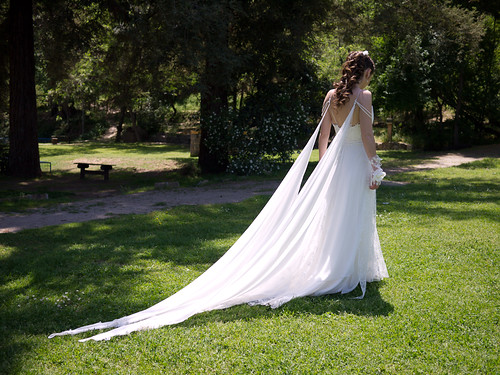 CL Society 198: Bride dress tail