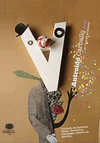 Carballo 2012 - Entroido - cartel