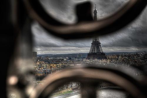 Torre Eiffel-París by chucafox