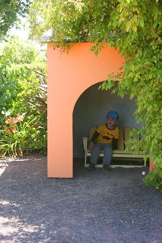 kids garden hut