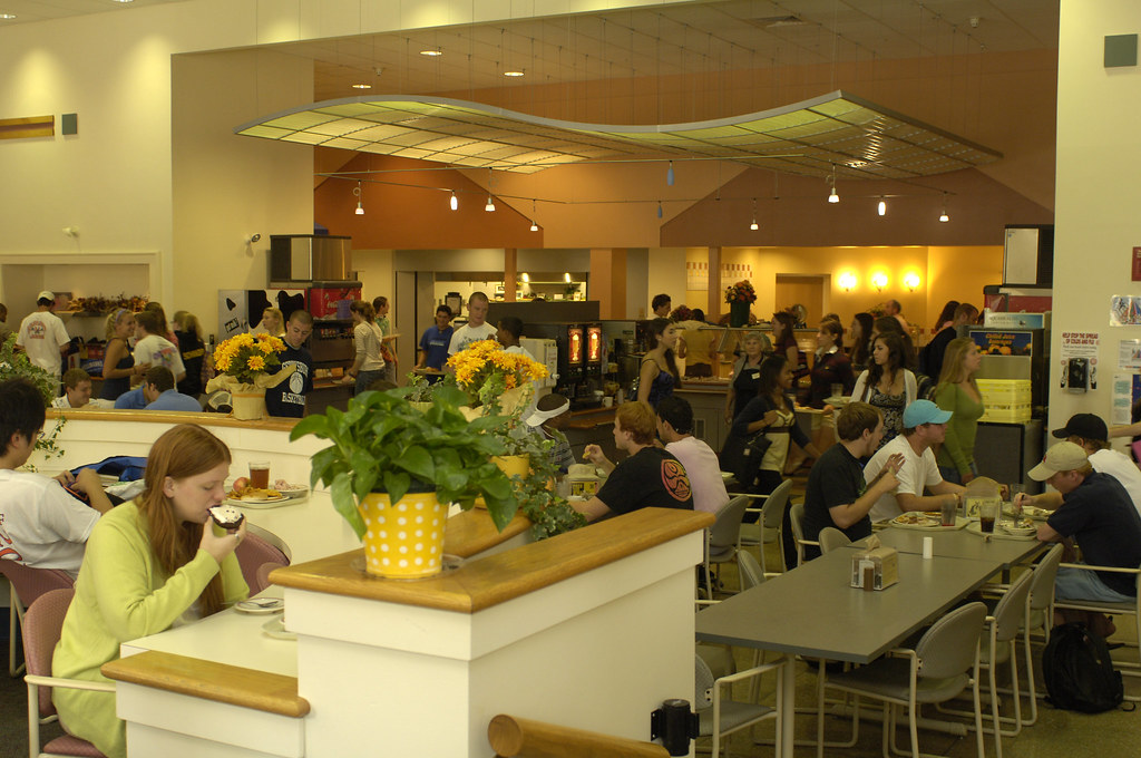 The campus dining center, nicknamed Servo, offers menu selections to satisfy every palate and diet.
