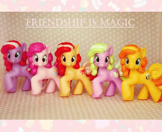 corps de ballet of ponies