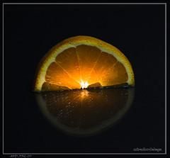 Mi media naranja.