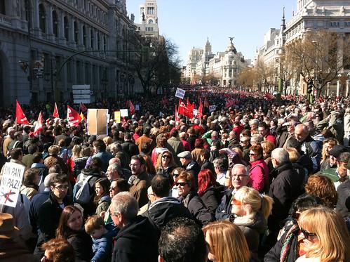 La manifestación del 19J