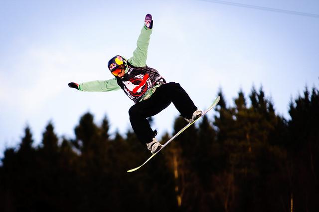 Slopestylefinale under Snowboard-VM 2012 i Oslo