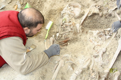 Exhumación de represalaidos en Castro del Rio (Córdoba)