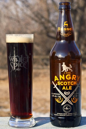 Review: Russell Brewing's A Wee ANGRY Scotch Ale by Cody La Bière