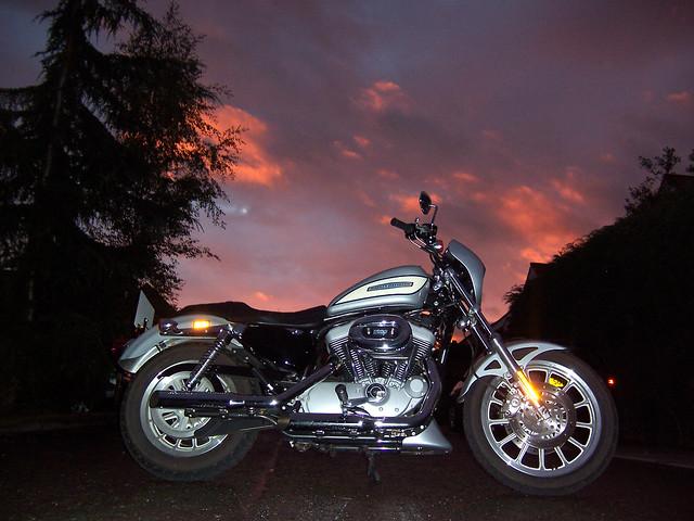 Faithir's Harley Sportster.
