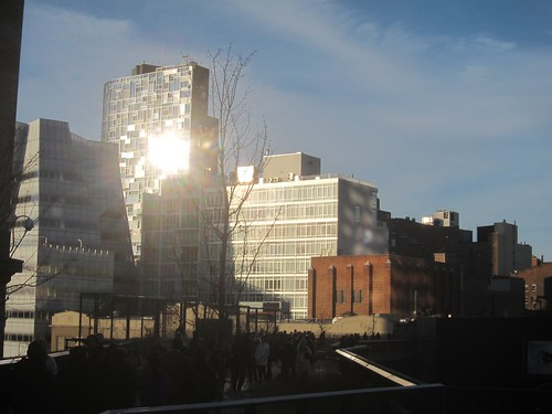 High Line, atardecer. NYC Feb2012