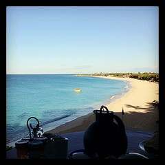 My #breakfast this #morning in #stmartin #island